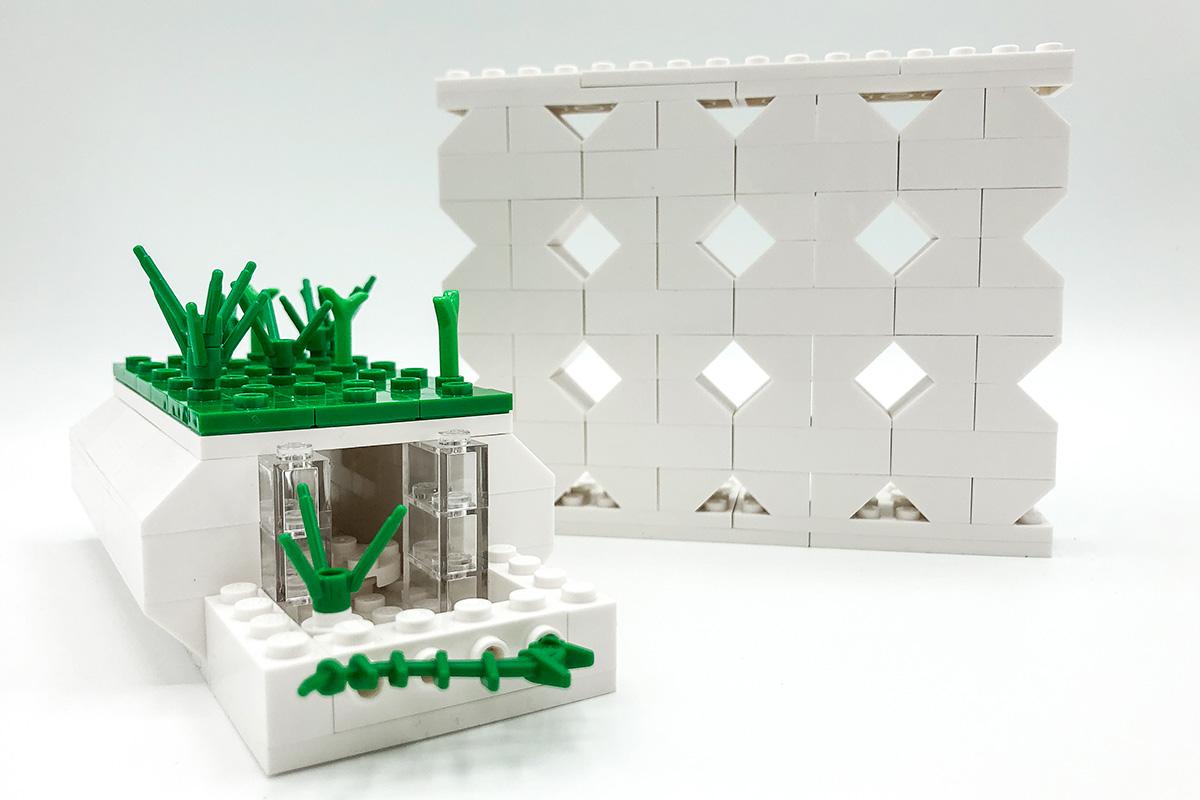 Projet Final Des Stagiaires Construit En Lego.