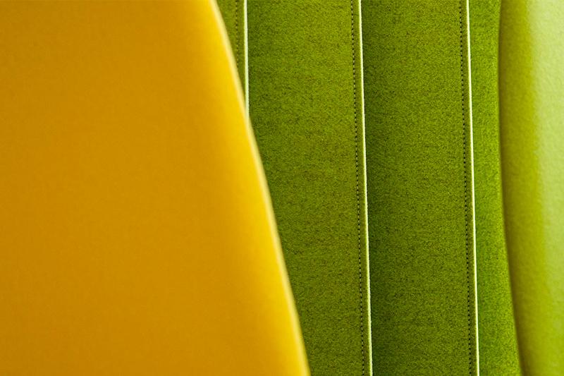 Texture Des Fauteuils Situés Dans Le Hall D'accueil Des Bureaux D'Axanis à Bordeaux.