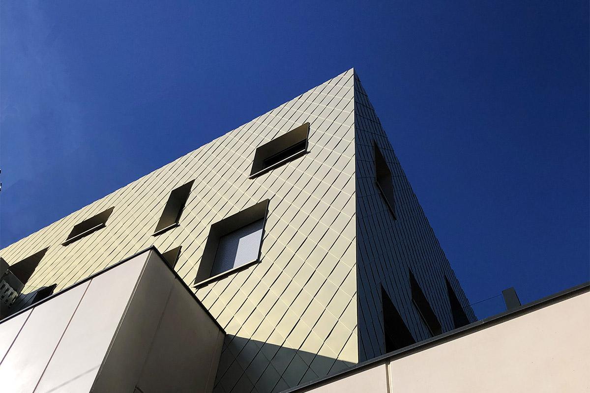 Vue Perspective Des Volumes De L'immeuble De L'agence Bulle Architectes à Bordeaux.